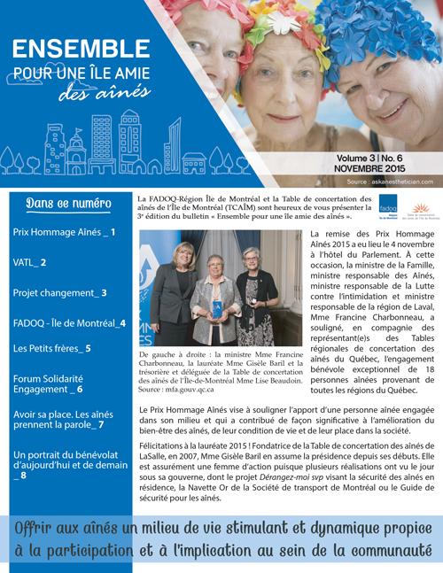 Novembre 2015 | Vol. 3 | No.6
