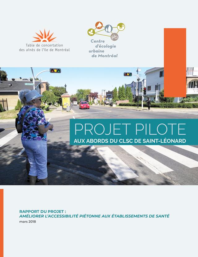 Projet pilote aux abords du CLSC de Saint-Léonard