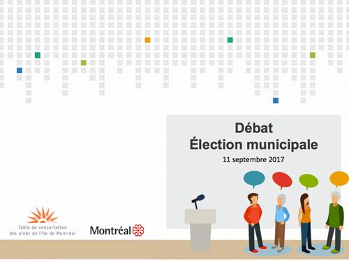 Débat des candidats – Élections montréalaises 2017